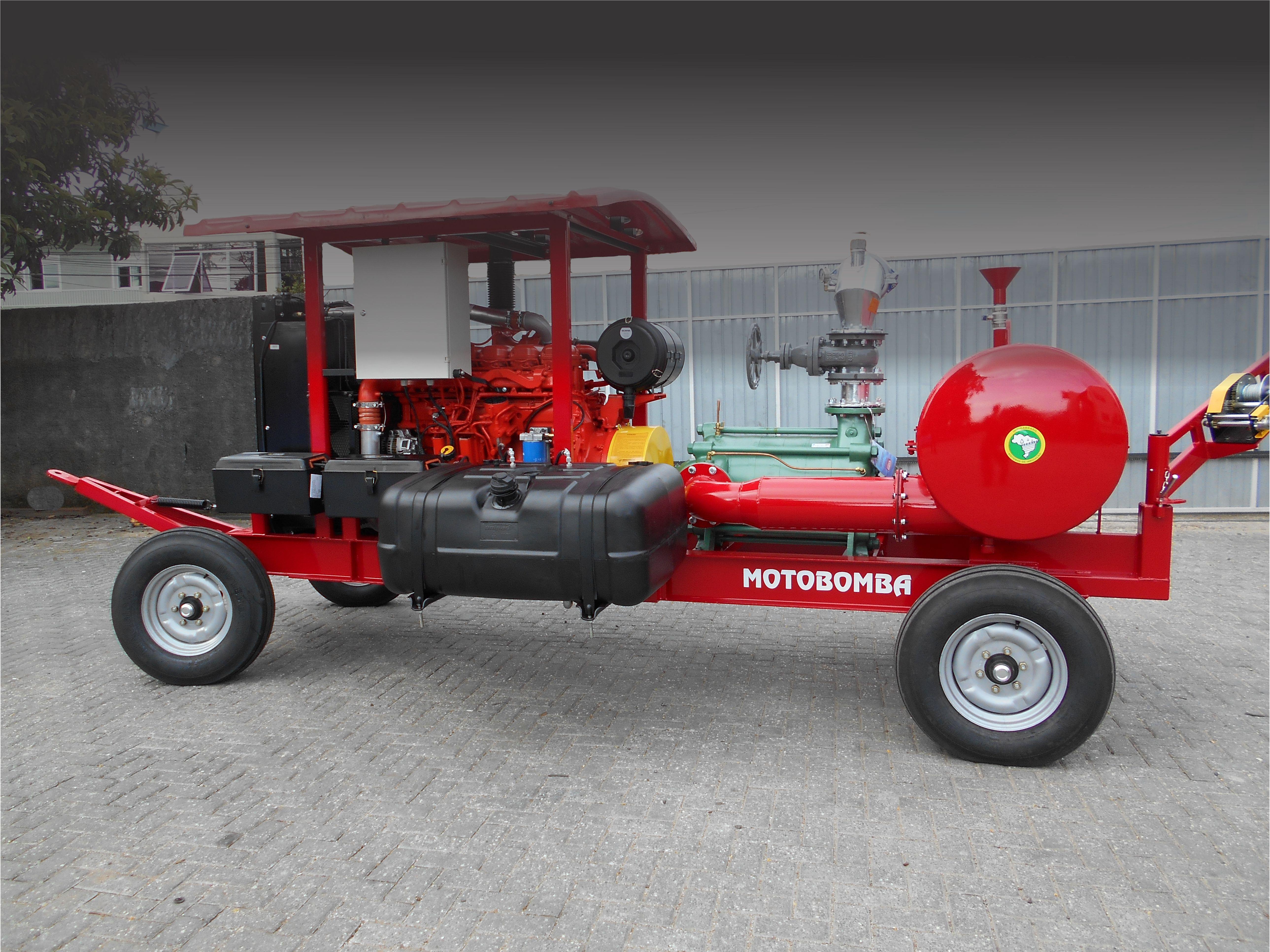 Irriga Brasil, Motobomba Diesel